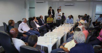 Presidente solicita ao deputado,  Jovair Arantes, emendas para serem aplicadas no município