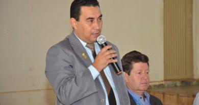 Presidente Gilmar e vereador Edimar, representam a Câmara na  IX Conferência Municipal de Assistência Social