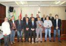 Vereadores visitam a Câmara Municipal de Pirenópolis e participam de Sessão